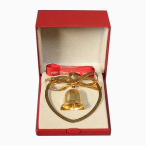 Christmas Bell Ornament by Eigel Jensen for Georg Jensen, 1987
