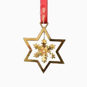 Snowflake Christmas Ornament by Clausen, 1987