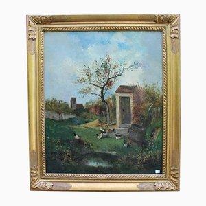Peinture de Paysage par Derenity, 1881