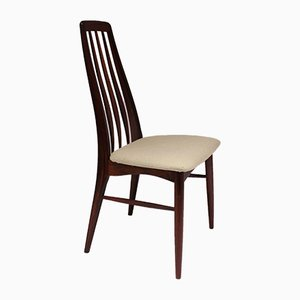 Rosewood EVa Dining Chairs by Niels Koefoed for Koefoeds Hornslet, 1960s, Set of 6
