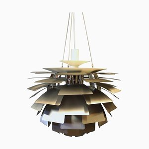 Lámpara de techo Artichoke de acero cepillado de Poul Henningsen para Louis Poulsen, 2009