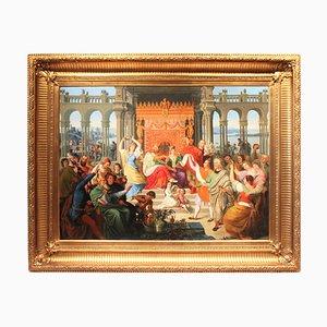 Antikes Ölgemälde von G. Otti