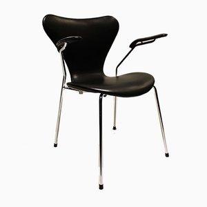 Poltrone nr. 3207 di Arne Jacobsen per Fritz Hansen, 2006, set di 4