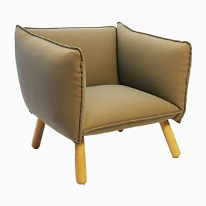Swedish Fabric Dormi Lounge Chair from Ire, 1990s