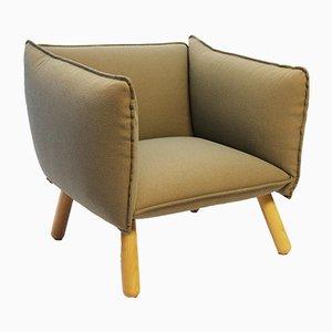Swedish Fabric Dormi Lounge Chair from Ire, 1990s