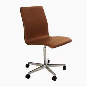 Modell 3171 Oxford Schreibtischstuhl von Arne Jacobsen für Fritz Hansen, 1990er