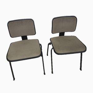 Mid-Century Schreibtischstühle von Olivetti Synthesis, 1960er, 2er Set