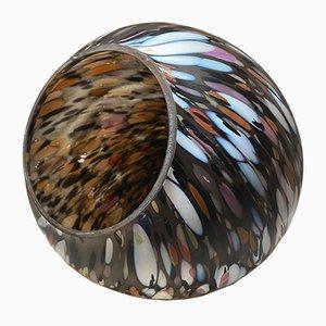 Vintage Mottled Glass Egg by Monica Backstrom for Kosta Boda