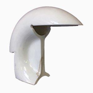 Italienische Biagio Tischlampe aus Carrara Marmor von Tobia & Afra Scarpa für Flos, 1968