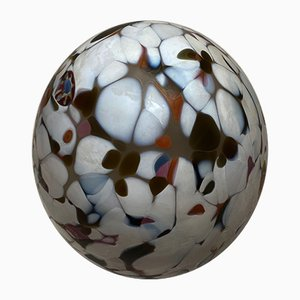 Vintage Mottled Glass Egg by Monica Backstrom for Kosta Boda