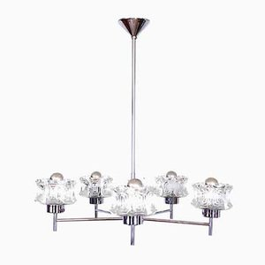 5-Light Chandelier, 1970s