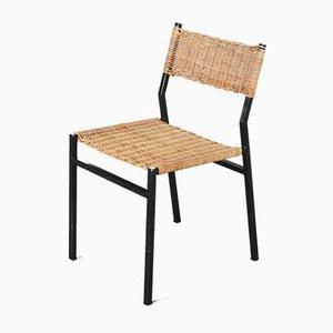 Dutch Wicker Dining Chair by Martin Visser for t Spectrum, 1960s