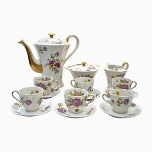 Art Deco Coffee Set from Théodore Haviland