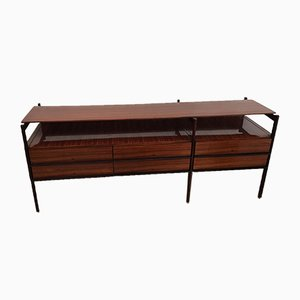 Mid-Century Rosewood Chest of Drawers from Luigi Sormani, 1960s