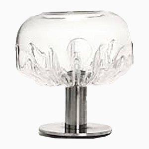 Lámpara de mesa modelo Zinia Mid-Century de Toni Zuccheri para Veart, años 70