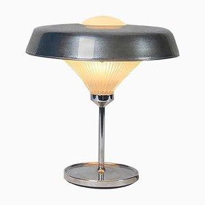 Lámpara de mesa modelo Ro de latón y vidrio de Studio BBPR para Artemide, años 60