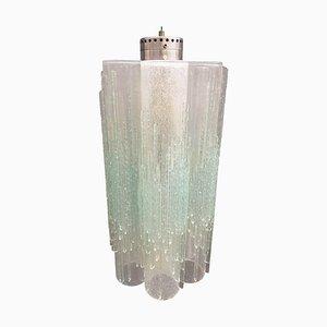 Lámparas colgantes de cristal de Murano de Poliarte, años 60. Juego de 2
