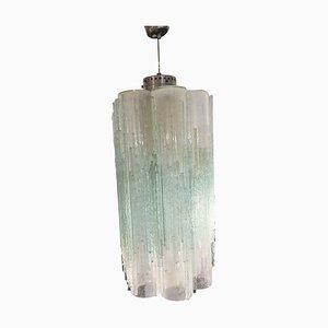 Murano Glas Hängelampe von Poliarte, 1960er