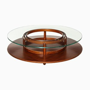 Rosewood Coffee Table by Gianfranco Frattini for Cassina, 1960s