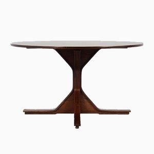 Tavolo da pranzo nr. 522 in palissandro di Gianfranco Frattini per Bernini, anni '60