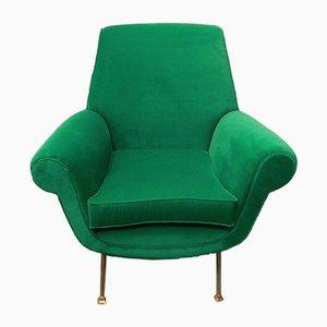 Italian Armchair by Gigi Radice for Minotti, 1960s