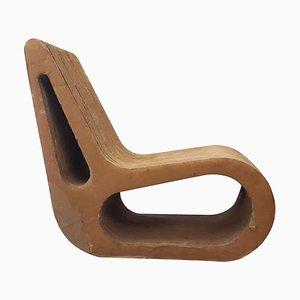 Italienischer Armlehnstuhl von Mario Pagliaro, 1970er