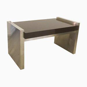 Italian Steel & Wood Desk by Ferdinando Loffredo, 1980s