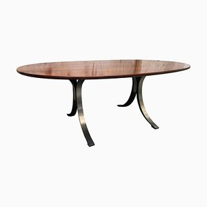 Rosewood T102 Dining Table by Osvaldo Borsani & Eugenio Gerli for Tecno, 1960s