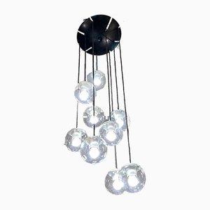 Lámpara de techo modelo 2095/9 de Gino Sarfatti para Arteluce, años 50