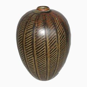 Dänische Keramik Vase von Gerd Bogelund für Royal Copenhagen, 1950er