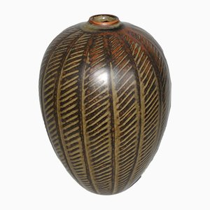 Danish Ceramic Vase by Gerd Bogelund for Royal Copenhagen, 1950s