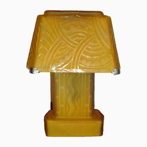 Lampada da tavolo Art Déco di Daum, anni '30