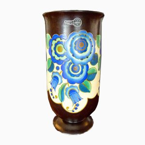Art Deco Ceramic Vase from Keramis, 1930s