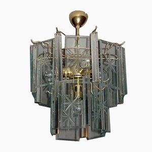 Mid-Century Modern Deckenlampe von Fontana Arte, 1970er
