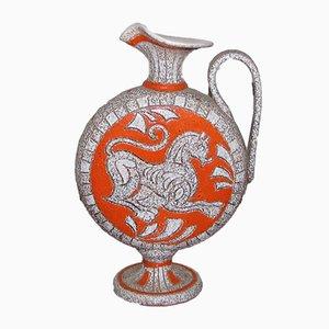 Jarra de cerámica de Fratelli Fanciullacci, años 60