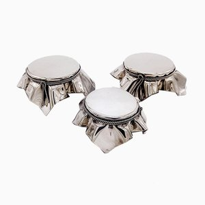 Mid-Century Modern Silvered Displays by Christian Dior, Set of 3