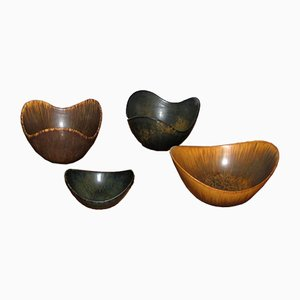 Ceramic Bowls by Gunnar Nylund for Rörstrand, 1950s, Set of 4