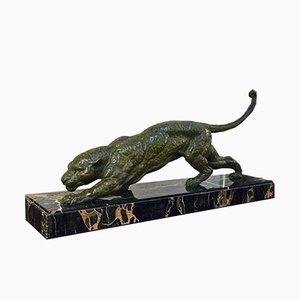 Escultura Lioness de D. H. Chiparus, años 30