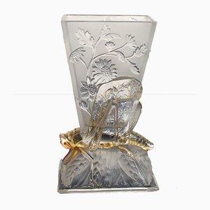 Locuste Vase von Baccarat