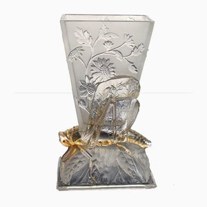 Vase Locuste de Baccarat