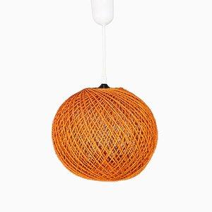 Lámpara de techo vintage de cuerda