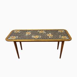 Tavolino da caffè Mid-Century con mosaico di Berthold Müller, Germania