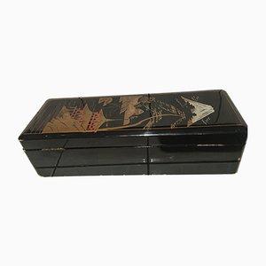Chinesische Mid-Century Holzkassette, 1960er