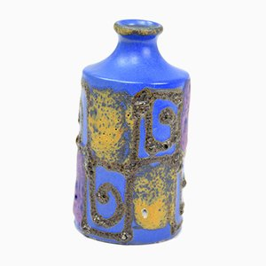 Jarrón francés de cerámica, años 60