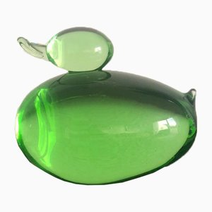 Glass Paperweight, 1960s