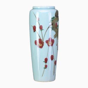 Jarrón chino de cerámica, años 70