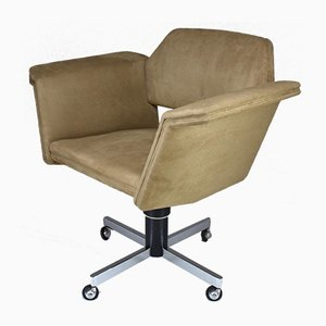 French Desk Chair by Joseph-André Motte for Steiner, 1950s
