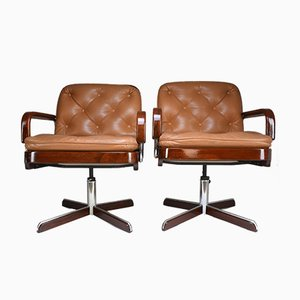 Modern Desk Chairs by AG Barcelona, 1970s, Set of 2