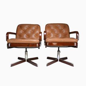 Moderne Schreibtischstühle von AG Barcelona, 1970er, 2er Set