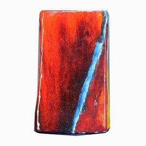 Jarrón italiano de cerámica, años 70